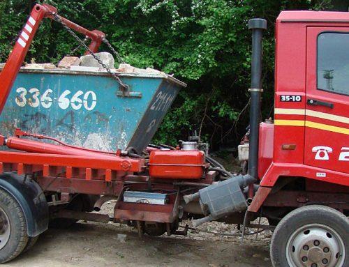 Sittszállítás, konténeres hulladékszállítás – Hogyan zajlik?