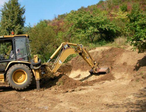 A gépi földmunka, alapásás és árokásás fortélyai!