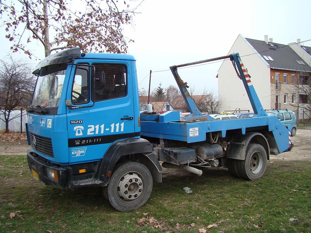 konténeres hulladékszállítás Pécs